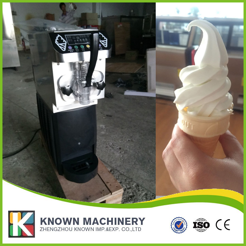 EU popular soft serve ice cream maker machine desk top ice cream machine for sale eu popular soft serve ice cream maker machine desk top ice cream machine for sale