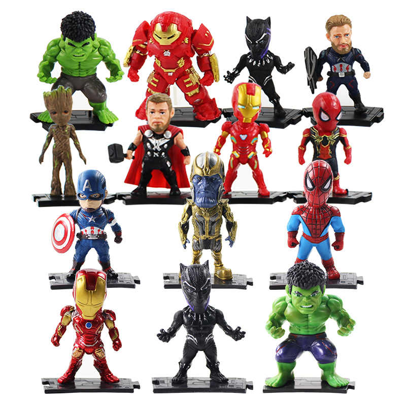 avengers-font-b-marvel-b-font-figurines-d'action-fer-homme-thanos-captain-america-hulk-hulkbuster-arbre-homme-thor-black-panther-spiderman-figure-jouets