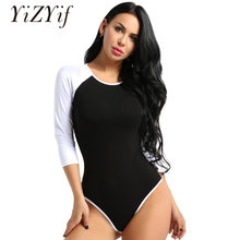 31f1fd65d0ab YiZYiF Sexy Adult Women Baby Diaper Lover Long Sleeves Snap Crotch Romper  Soft Cotton One Piece Romper Jumpsuit Bodysuit Cosplay