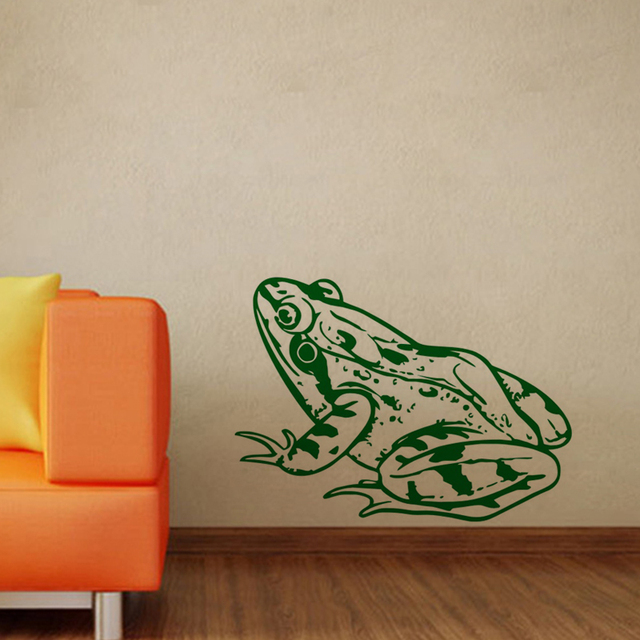 Frog Wall Stickers Creative Kids Room Wall Decor Animals Nursery ...