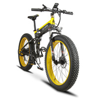 Folding Electric Cruiser Bike Cyrusher XF690 500W 48V 10A Fat Bike Full Suspension 7 Speed All