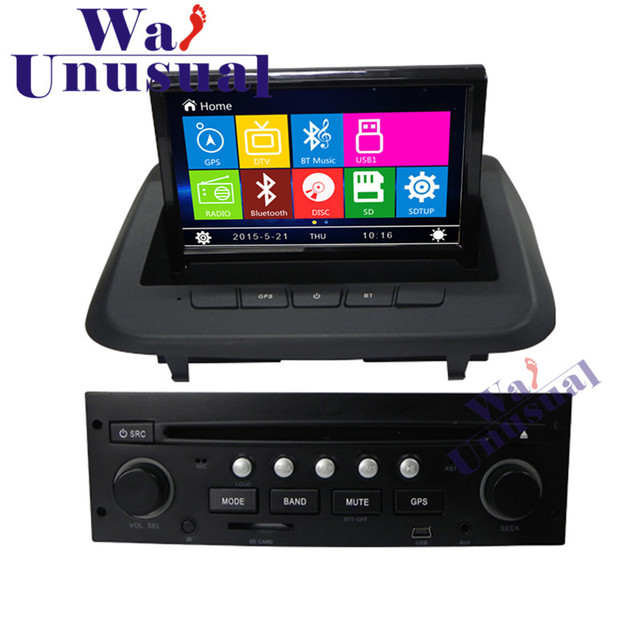 wanusual 8 inch professional wince car entertainment system radio rh aliexpress com 3008 Peugeot Cars Together 3008 Peugeot Cars Together