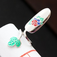 925 sterling silver silver ring opening offered restoring ancient ways female armor silver ring