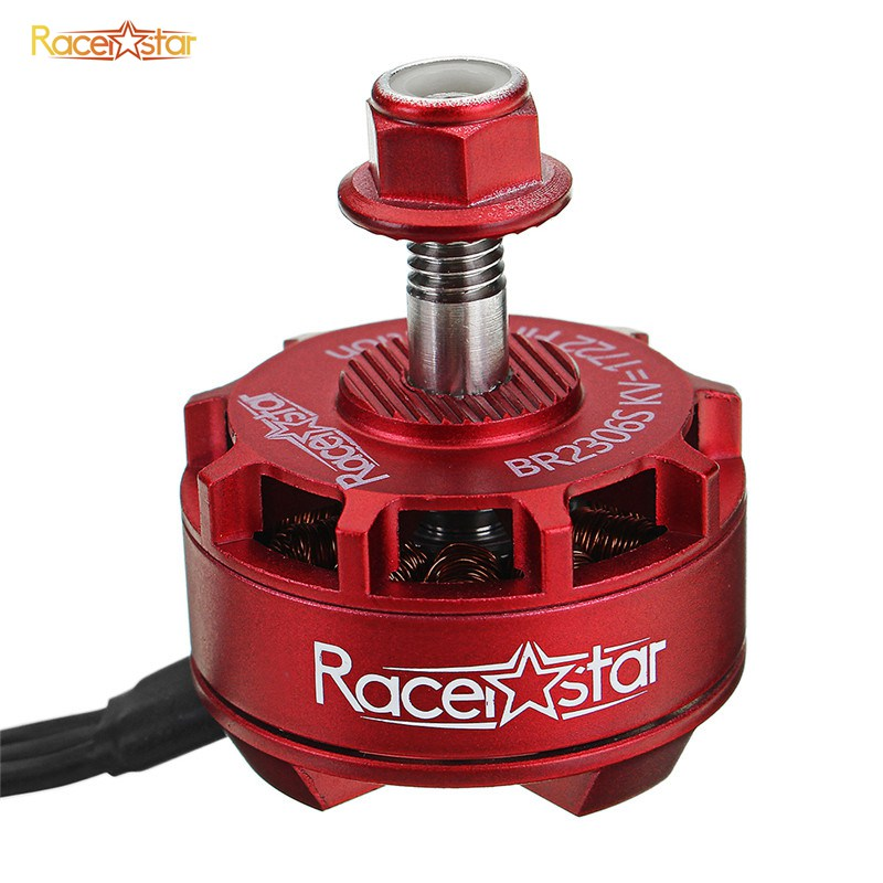 4X Racerstar 2507 BR2507S Fire Edition 1800KV Brushless Motor For RC Drone FPV R