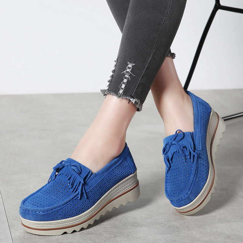 HX 3088 Platform Flats Shoes Women-17