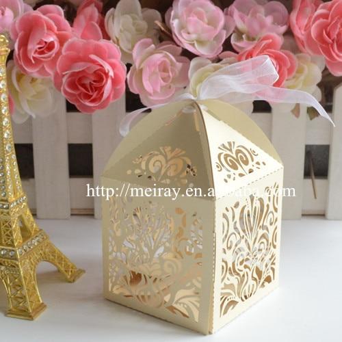 Alibaba wedding favors laser cut graduation favor boxes wedding