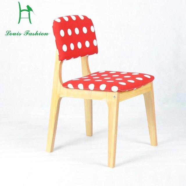 48 14 Chaise De Salle A Manger Confortable En Bois Massif Simple Et Moderne Dans Chaises De Table A Manger De Meubles Sur Aliexpress Com
