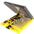 Набор отверток 45 в 1  профессиональный набор прецизионных отверток для часов  компьютера для iPhone  Samsung  смартфонов  инструменты для ремонта и ...