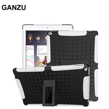 "Heavy Duty Caja de la Tableta Para iPad Pro 12.9 ""A1584 A1652 A Prueba de Golpes TPU + PC Duro Soporte e-book Shell Protector Para Pad Pro"