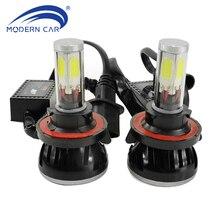 MODERN CAR 4 Side LED Lights 12V G5 H13 H4 9004 9007 H1 H3 H7 H8