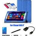 Proteção Shell / pele estojo de couro de proteção para Chuwi Hi8 caso 8 '' Tablet PC dormência