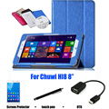 Protective Shell/Skin  protective Leather Case For Chuwi Hi8 Case 8'' Tablet PC dormancy