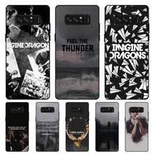 P140 Night Music Black Silicone Case Cover For Samsung Galaxy Note 3 4 5 8 9 10 Plus M10 M20 стоимость