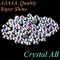 Top Qaulity! AAAAA Grade Hot Fix Rhinestone Crystal AB SS4 to SS50 Mixed Size SS10 SS16 SS20 SS30 Glass Crystals Iron On Hotfix
