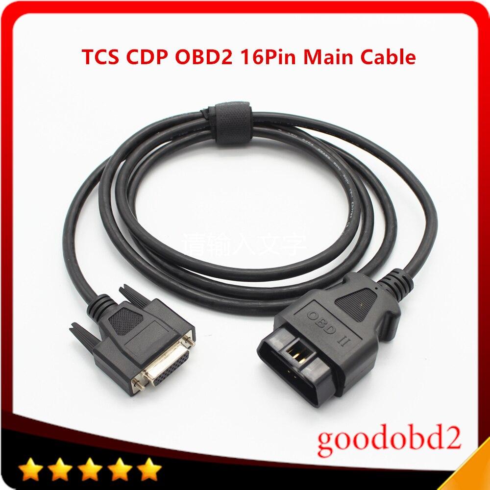 Pour TCS CDP PRO OBD2 16pin Câble Principal Multidiag VD600 Scanner CDP OKI Puce 16 broches De Diagnostic Accessoires Câble De Diagnostic