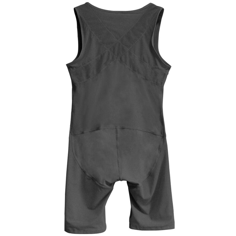 SAUCY ANGELIA Men Bodysuit Fajas Modeladoras Sexy Zip Sweating Belly Control Waist Trainer Mens Body Shaper Tights Corsets 6XL in Shapers from Underwear Sleepwears
