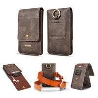 الرجعية ربط حزام الحافظة غطاء الحقيبة حقيبة الهاتف فليب محفظة جلدية الهاتف القضية لسامسونج note8 S9 s8 s7edge للآيفون x 6 زائد