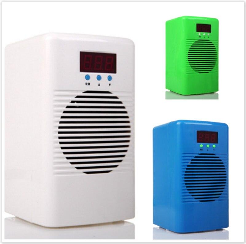 Régulateur de température plus chaud/plus frais de refroidisseur d'eau d'aquarium de 72 w 110-240 v pour le réservoir marin de récif de corail de réservoir de crevette de poissons au-dessous de 20L