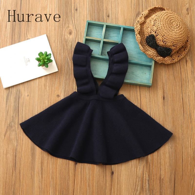 Hurave-Autumn-2017-girls-dress-girl-clothing-Knit-Sweater-Kids-for-girl-robe-fille-kids-clothing-beautiful-vestidos-5