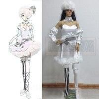 Anime Kuroshitsuji Black Butler Cosplay Costume Ciel Phantomhive Circus doll lolita party dress