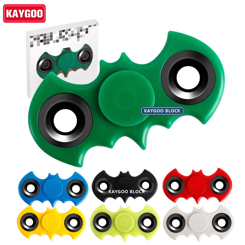 Kaygoo Multicolor Triangle Gyro Batman Finger Hand Spinner Fidget EDC Hand For Autism/ADHD Anxiety Stress Relief Focus Toys Gift new luminous metal fidget spinner triangle gyro edc hand finger spinner for autism adhd anxiety stress relief focus toys gift