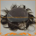 New arrival toupee mens wig base style top swiss lace with around pu lace toupee stock free shipping