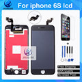 1 ШТ. Класса AAA Без Мертвых Пикселей Для iPhone 6 s ЖК-Дисплей Оригинальный 3D Сенсорный Экран Digitizer Ассамблея Черный Белый Freeship