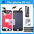 1 pcs grade aaa sem dead pixel para iphone 6 s display lcd 3d originais tela de toque digitador assembléia branco preto freeship