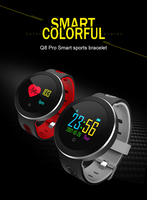 Fashion Sports Watch For Men Round Colored Consumer Electronics