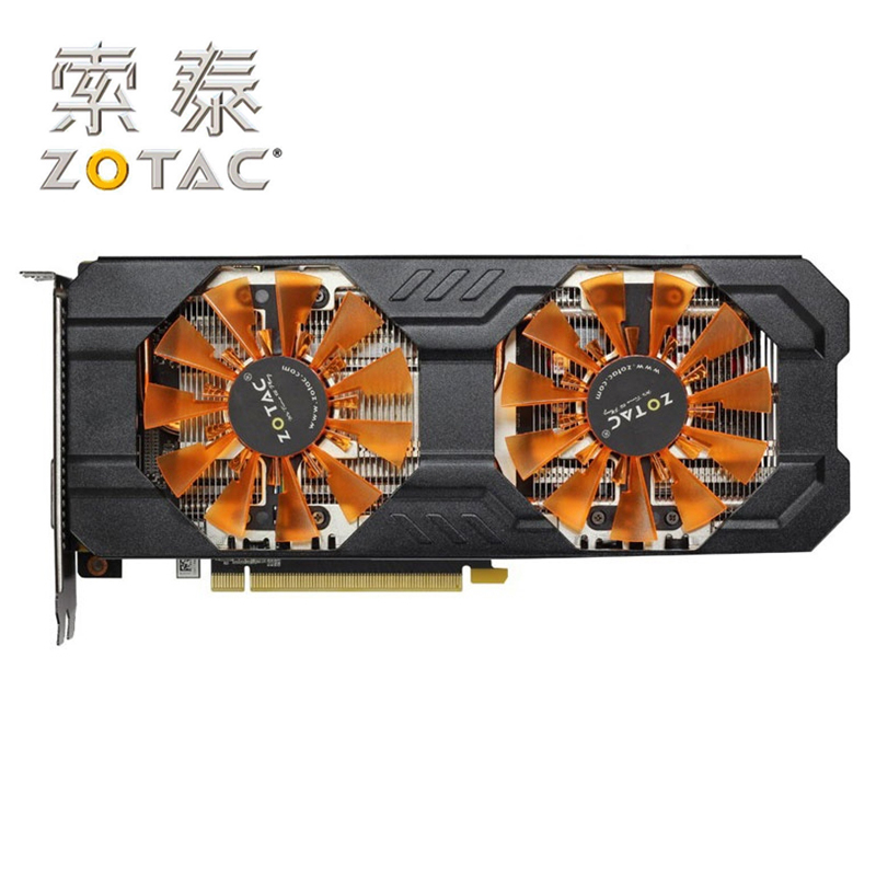 D'origine ZOTAC Carte Vidéo GeForce GTX760-2GBD5 Thunderbolt HB 256Bit GDDR5 Cartes Graphiques pour nVIDIA Carte GTX760 760 2g Hdmi