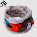 Fashion Winter Warm Baby Scarf Cotton Velvet Child Scarf For Children Scarf Cashmere Neckerchief Mixed Color Kid Neck Ring Scarf