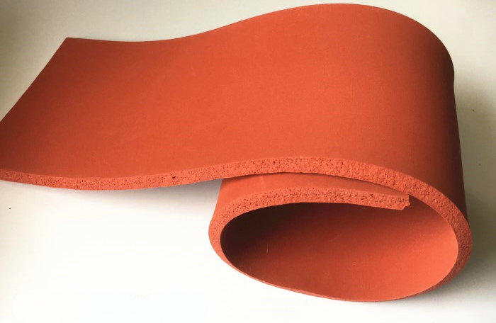 Custom Made Silicone Foam Slab Plate Sheet Board for Heat Press Machine Heat Insulation Blanket 1000 x 1200 x 10mm Red