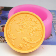 Bathing Salt soap Mold Silicone Casting Handmade Carving Soap Mould