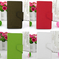 GENMORAL Brand Design PU Leather Cover Phone Bag Pouch Skin Shell Case Flip For LG Optimus