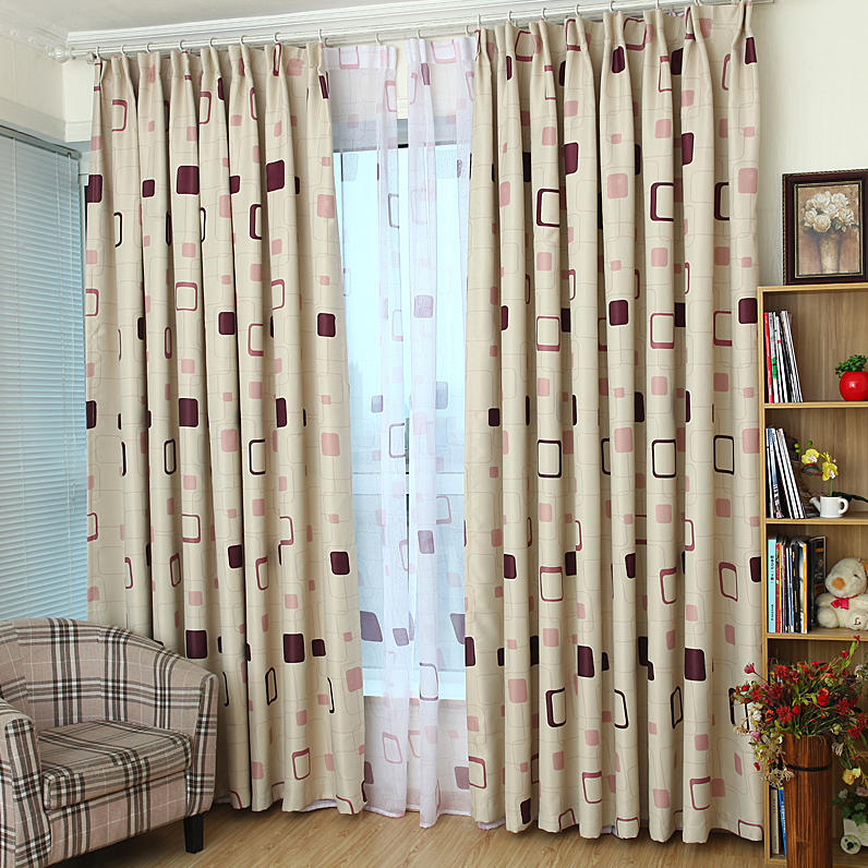 2016 Geometric Patterns Curtains For Living Room Bedroom Blackout Window Treatment Drapes Home