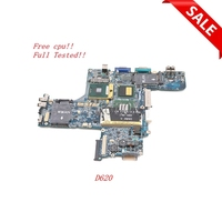NOKOTION Main board For Dell Latitude D620 Laptop Motherboard 945GM DDR2 CN 0XD299 0XD299 HAL00 LA 2791P Free CPU