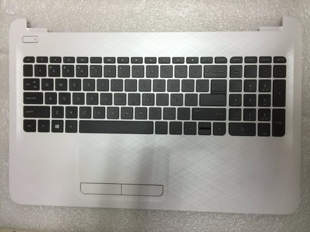 Original  For HP 15-AF 15-AC Palmrest Touchpad & Keyboard Cover Shell Black Red White Silver Gray рюкзак для ноутбука 15 6 hp odyssey black red x0r83aa
