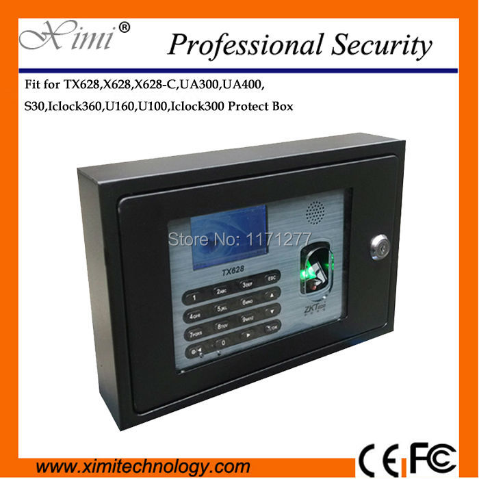 Fit fingerprint time recorder TX628 X628 X628-C UA300 UA400 S30 ICLOCK360 U160 U100 iclock300 metal protect cover safety cover jamo s 628