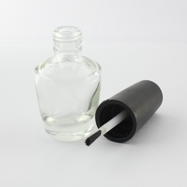 96x 15ml Empty Glass Bottles Nail Polish Refillable Bottles with Lid and Brush SKU:F0014X
