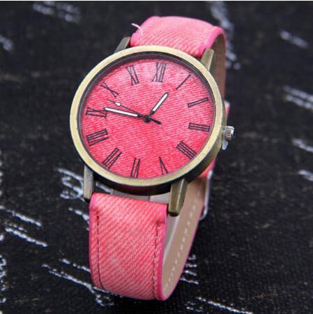 Watch Men Women Quartz Watches Denim Design Leather Strap Male Casual Wristwatch RelogioWatch Men Women Quartz Watches Denim Design Leather Strap Male Casual Wristwatch Relogio