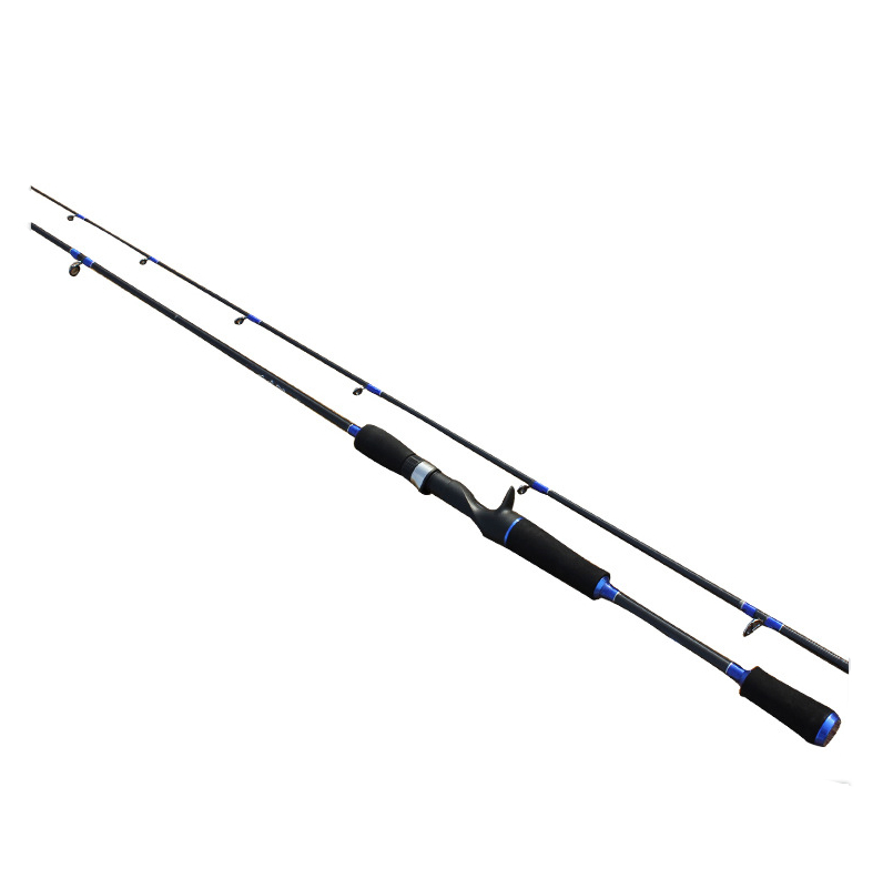 Carbon Fishing Rod Fishing Pole M Power 2 Section Casting Rod Lure Rod Carp Fishing Super Light 1.8/2.1/2.4m Fishing Tackle high quality fishing rod lure fishing pole super hard durable wood handle road fishing rod fishing tackle 1 8 m 2 1 m 2 4m