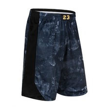 New Basketball Shorts Quick-Drying Plus Size Training Sports Shorts Running Fitness Pockets Shorts Zipper Casual Five shorts