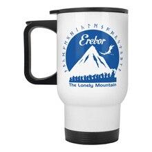 Erebor LOTR HOBBIT LORD OF THE RINGS stainless steel travel mug