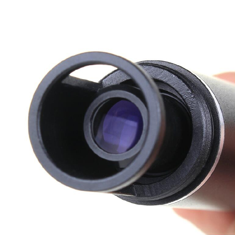 50x Full Metal Portable Pocket Magnifier Compact Blue Coated Film - Meetinstrumenten - Foto 4