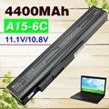 4400 мАч Аккумулятор Для Ноутбука MSi А32-А15 A41-A15 A42-A15 A42-H36 CR640DX CR640MX CR640X A6400 CR640 CX640 CX640DX CX640X