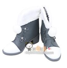 цена The Game Miracle Nikki Shoes Super Gorgeous Constellation Stars Rabbit Cosplay Female Boots A онлайн в 2017 году