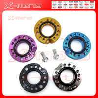 28mm colorful CNC Carb Adjuster Carburetor Inlet Manifold Spinner Plate Adaptor For Pit Dirt Bikes Buggy
