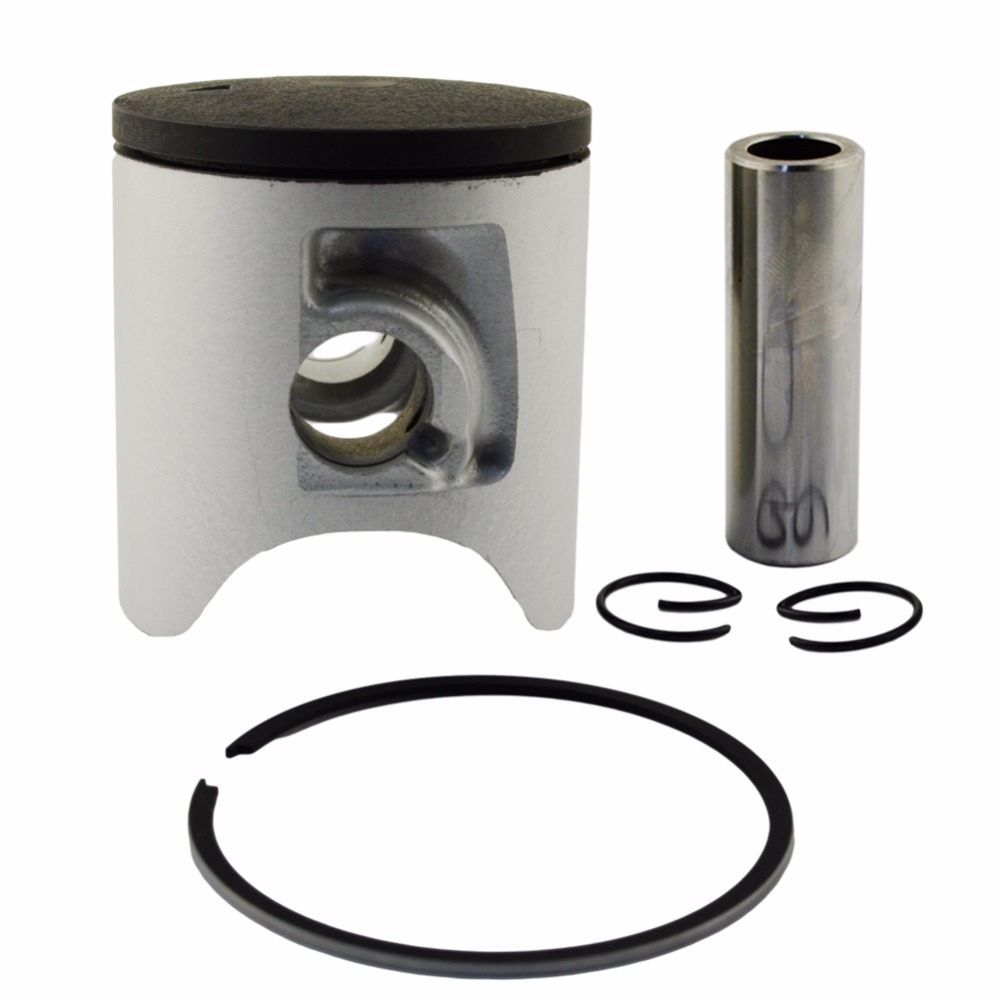 Bore Size 54mm Motorcycle Standard Piston Kit Pin Rings Clips Set for YAMAHA YZ125 YZ 125 1997-2004