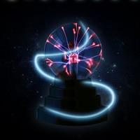 Novelty Glass Magic Plasma Ball Light 8 inch Table Lights Sphere Nightlight Kids Gift For New Year Magic Plasma Night Lamp