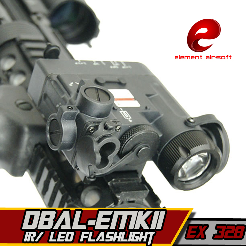 EX328 Element Airsoft Flashlight IR Laser Led Torch DBAL-D2 IR Lase Multifunction Tactical IR Illuminator Hunting IR Laser Light hot sale and new arrival tactical dbal pl led ir red laser for hunting bwl 012